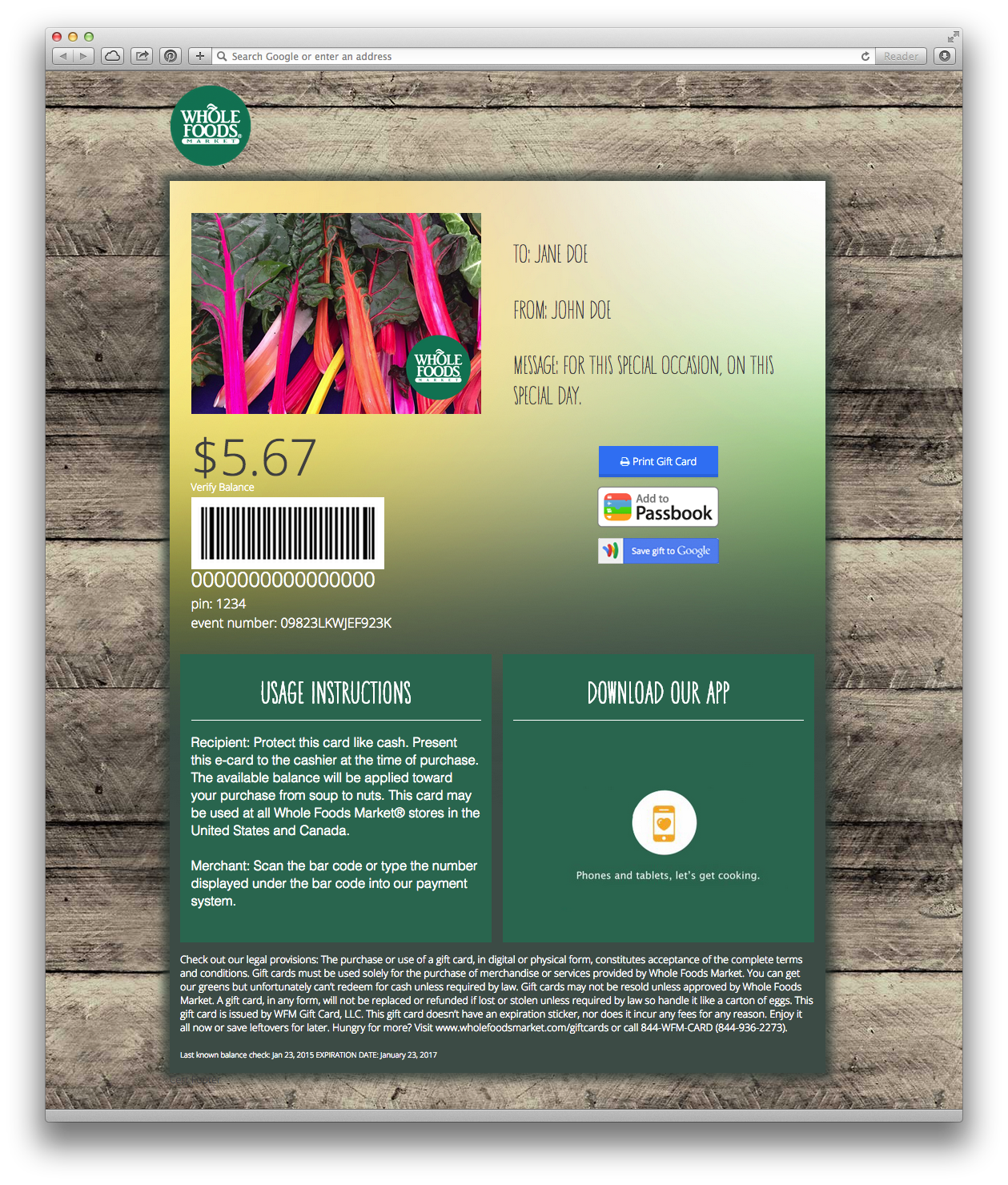 Whole Foods Gift Card Check Balance Gift Cards Whole Foods Gift Certificate Best Design Sertificate 2018 Whole Foods Gift Card Free Gift Ideas